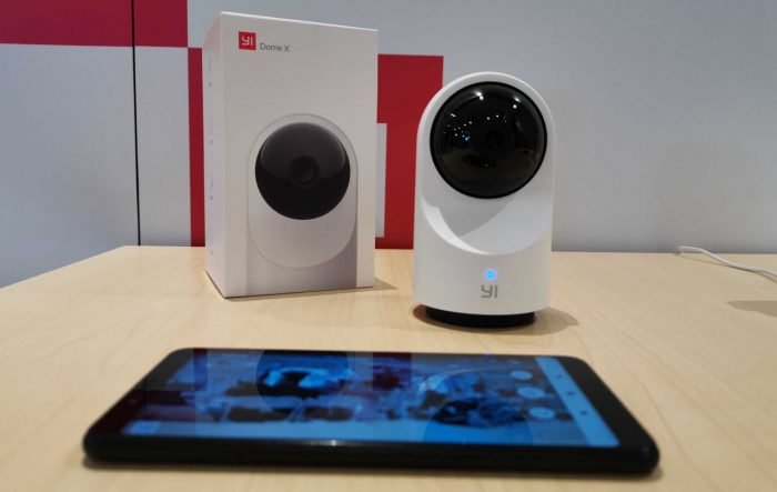 YI Dome Camera X Smartphone