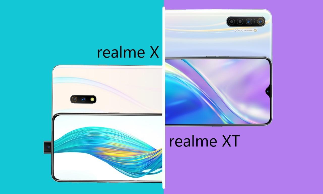 realme X vs realme XT Header