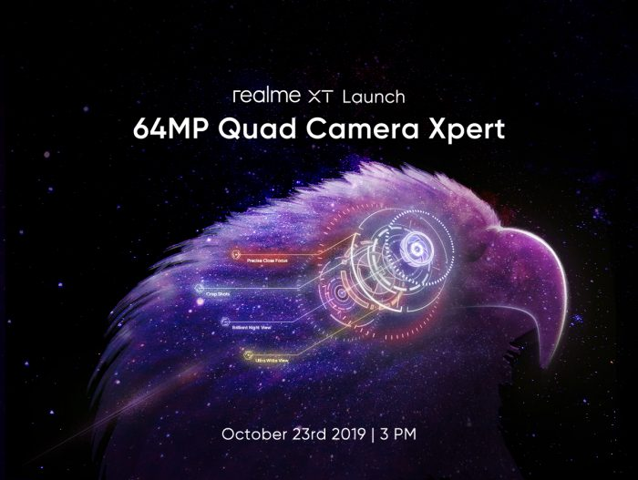 realme XT launch date