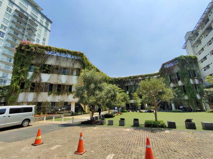 vivo V17 Pro Kamera Belakang Gedung Wide