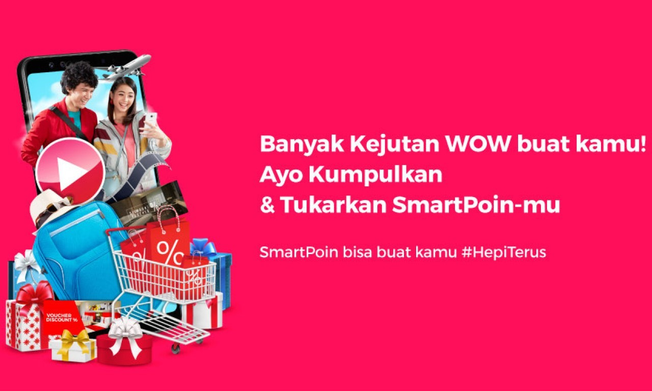 Cara Tukar SmartPoin Smartfren Header