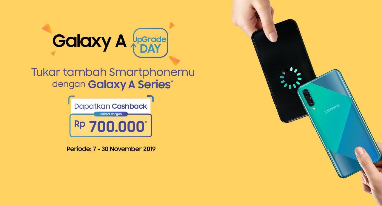 Samsung Ajak Kamu Tukar Tambah Hp Dengan Seri Galaxy A Dapat Cashback Hingga Rp 700 Ribu Gadgetren