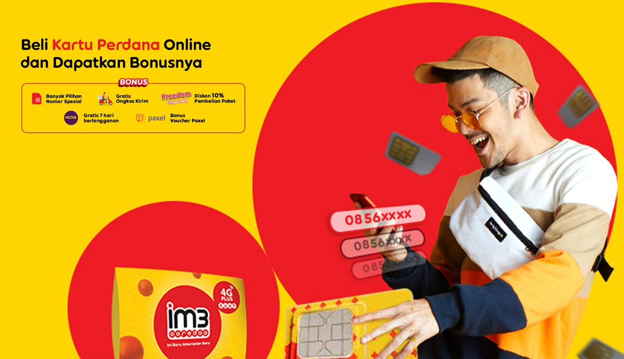 IM3 Ooredoo Online Header