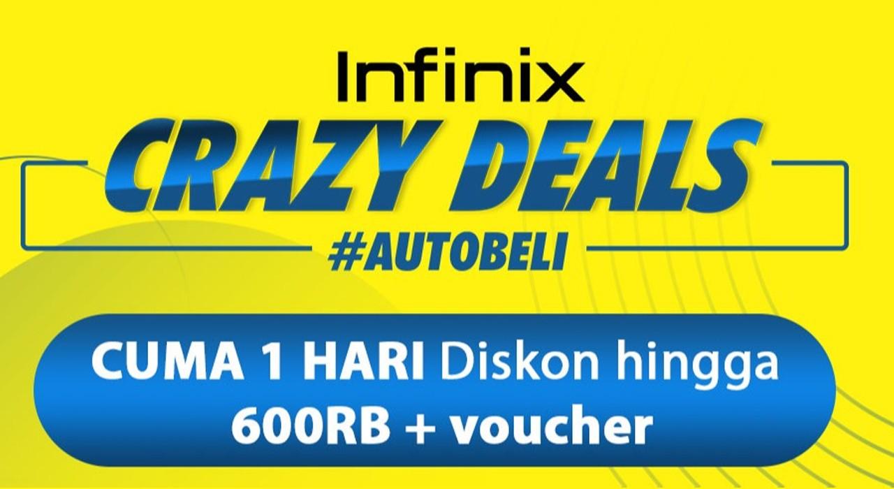 Infinix Crazy Deall Feature