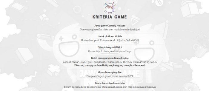 Jawara Game Indonesia Syarat