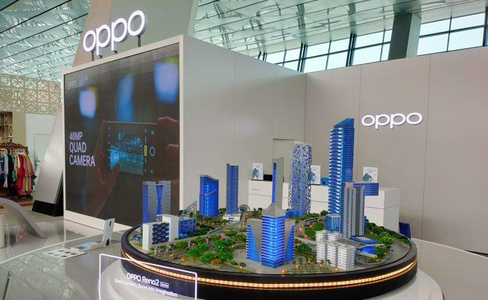 OPPO Store Bandara Soeta Gedung