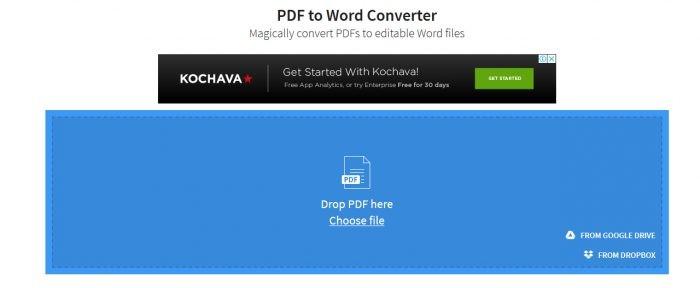 PDF ke Word SmallPDF