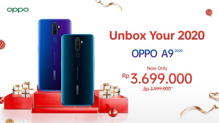 OPPO A9 2020 Diskon Unbox Your 2020