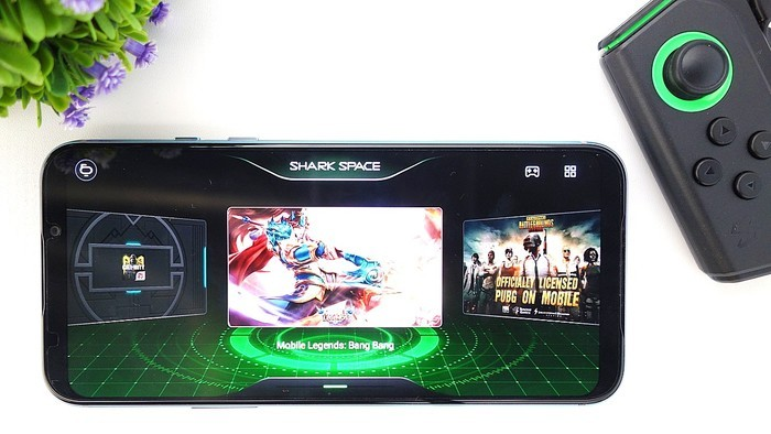 Review Black Shark 2 Pro Shark Space