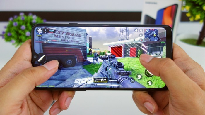 Review Samsung Galaxy A20s Gamings