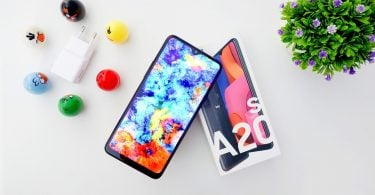Review Samsung Galaxy A20s Header