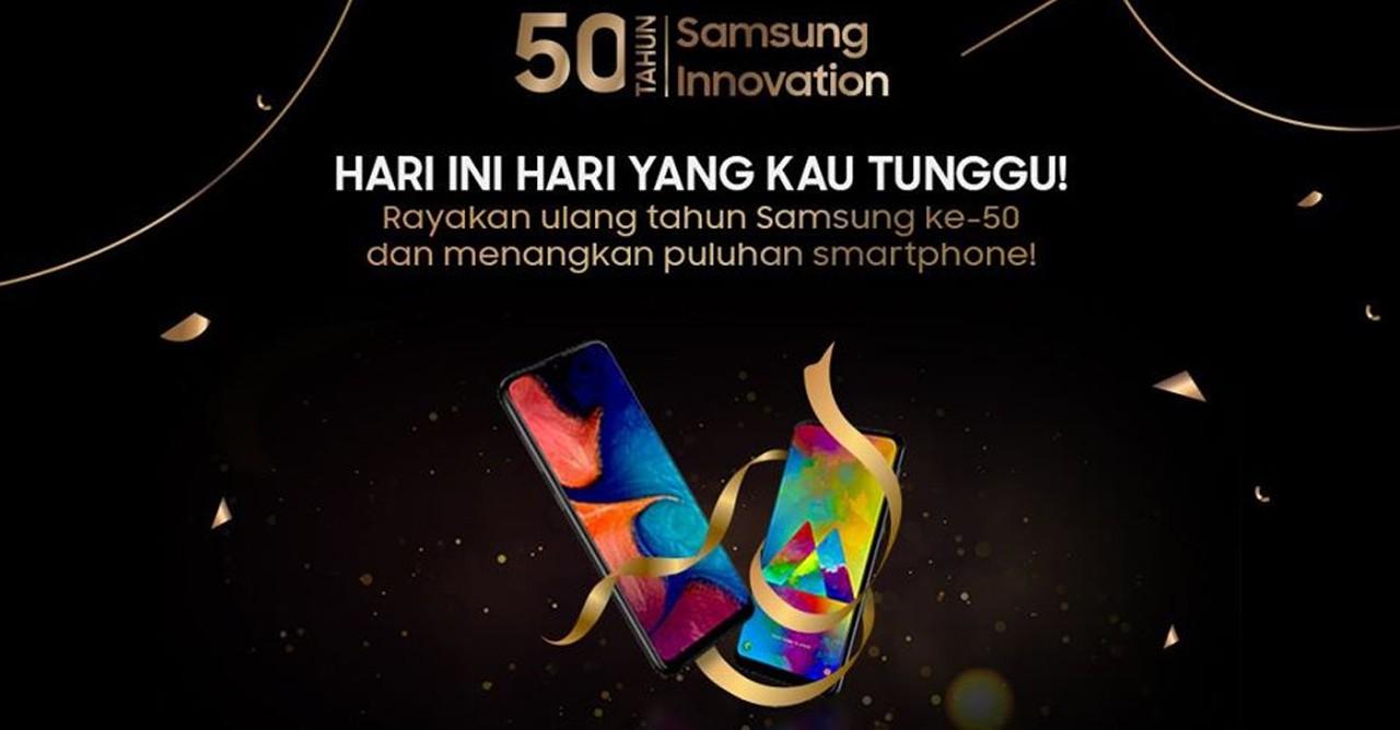 Samsung 50 Tahun Kompetisi