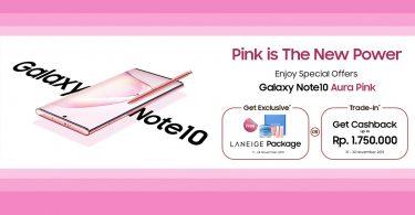 Samsung Galaxy Note 10 Aura Pink
