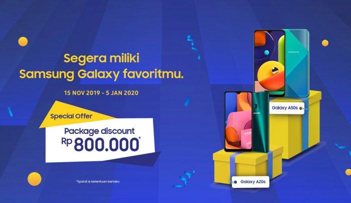 Samsung Galaxy YES 800ribu smartphone
