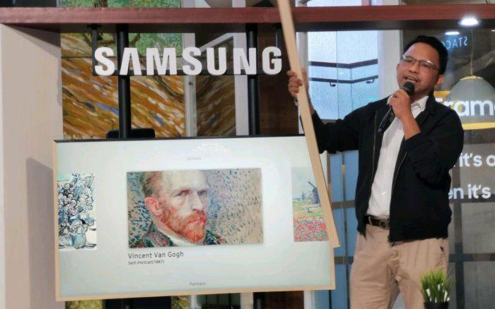 Samsung-TheFrame-bingkai
