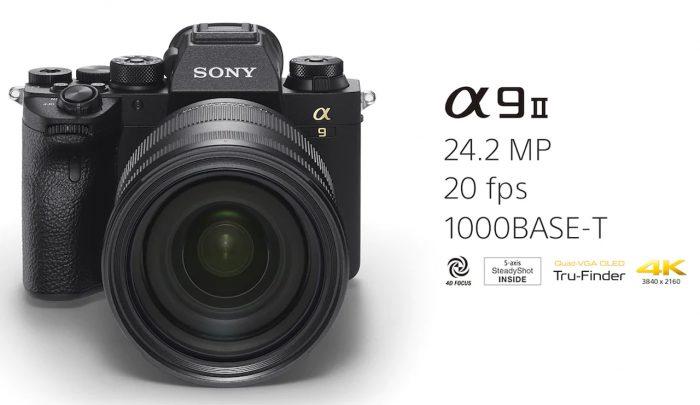 Sony Alpha 9 II Spec