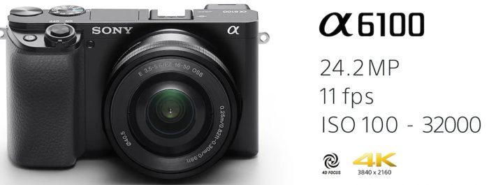 kamera sony alpha 6100