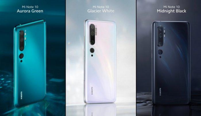 Xiaomi Mi Note 10 All