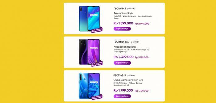 realme 3 Pro Mega Sale 1111
