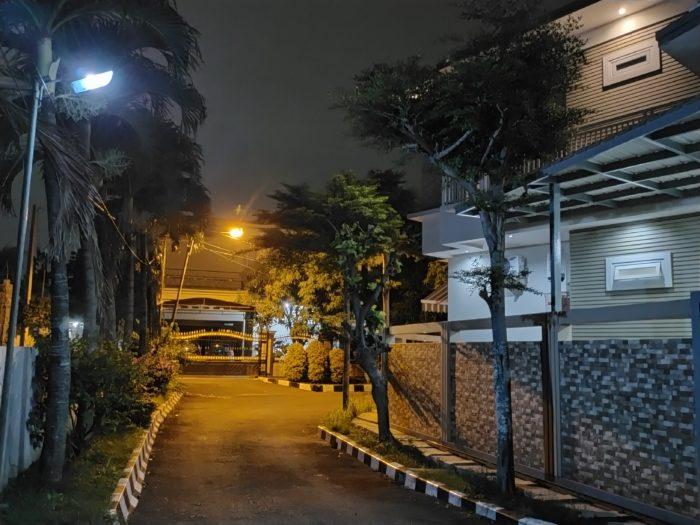 realme 5s Kamera Belakang Malam Jalan Night Scape