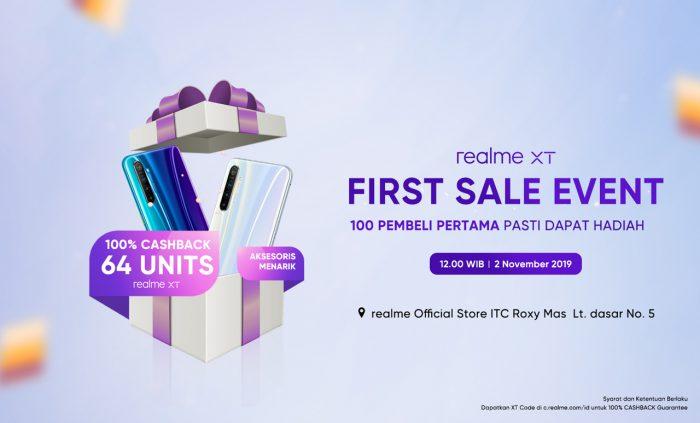 realme XT Offline Sale First