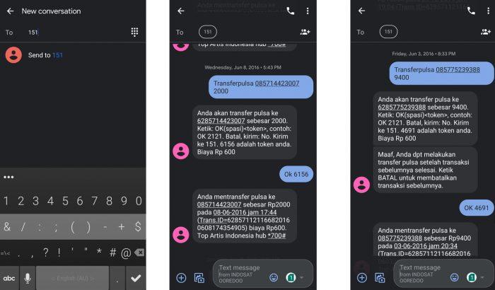 Dua Cara Transfer Pulsa Indosat Im3 Dan Syarat Biayanya Gadgetren