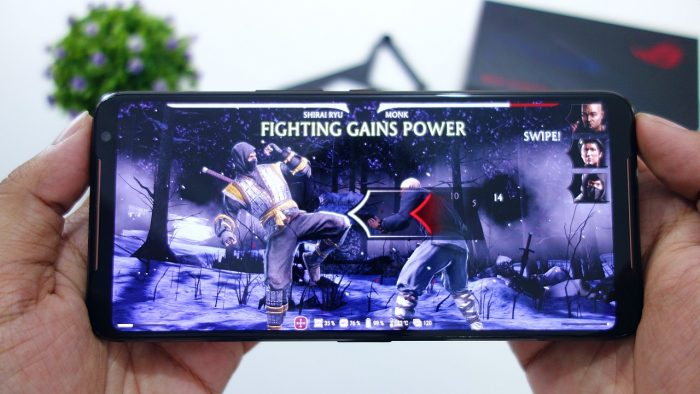 Review ASUS ROG Phone II Layar