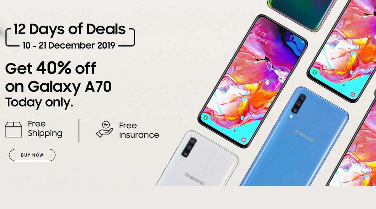 Samsung 12 Days of Deals Header