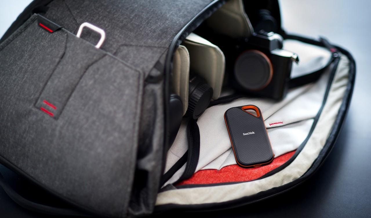 SanDisk Extreme PRO Portable SSD Header