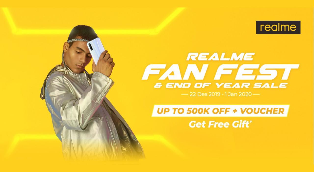 realme Fan Fest End of Year Sale Feature