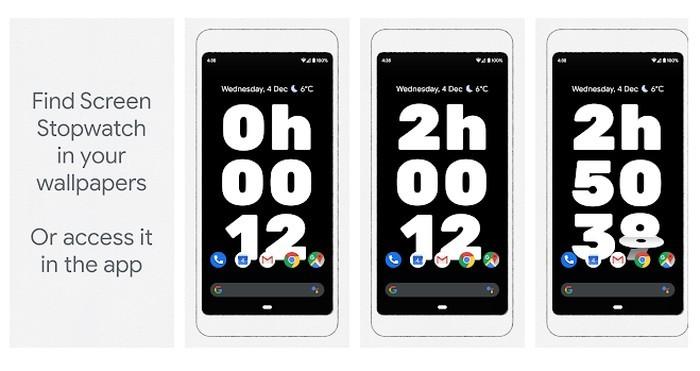 Aplikasi Screen Stopwatch Google