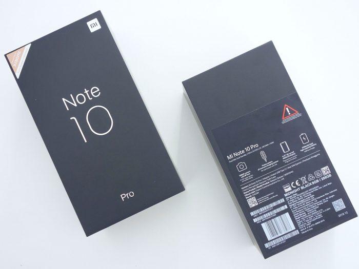 Boks Mi Note 10 Pro
