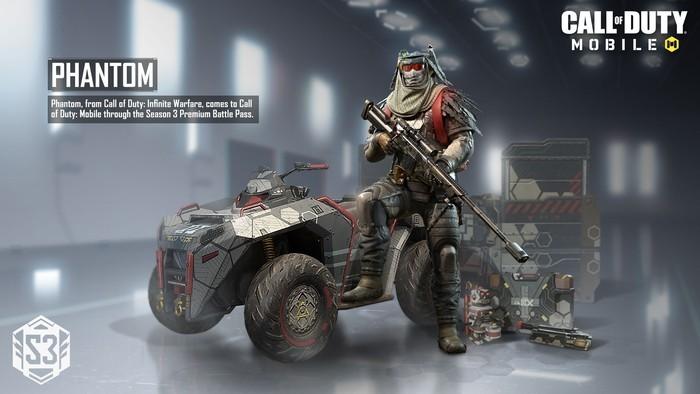 Call of Duty Season 3 Phantom