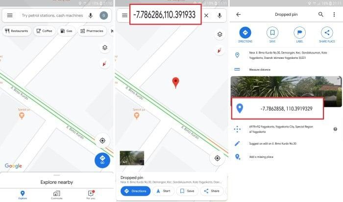 Cara Melihat Titik Koordinat di Google Maps 1
