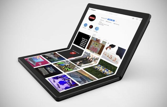 Lenovo ThinkPad X1 Fold Tampilan samping