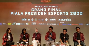 Press Conference Grand Final Piala Presiden Esport 2020