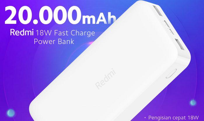 Redmi Power Bank 20000mAh