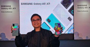 Samsung Galaxy A71 dan A51 Feature