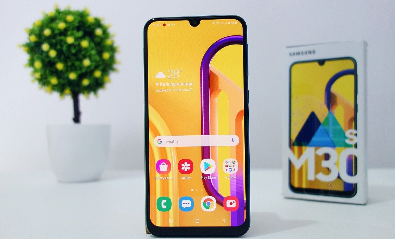 Review of Samsung Galaxy M30s Header