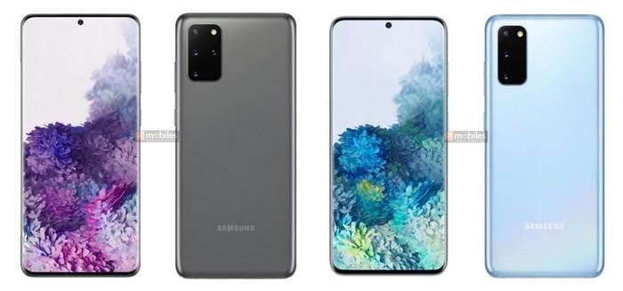 Samsung Galaxy S20 Desain Leak