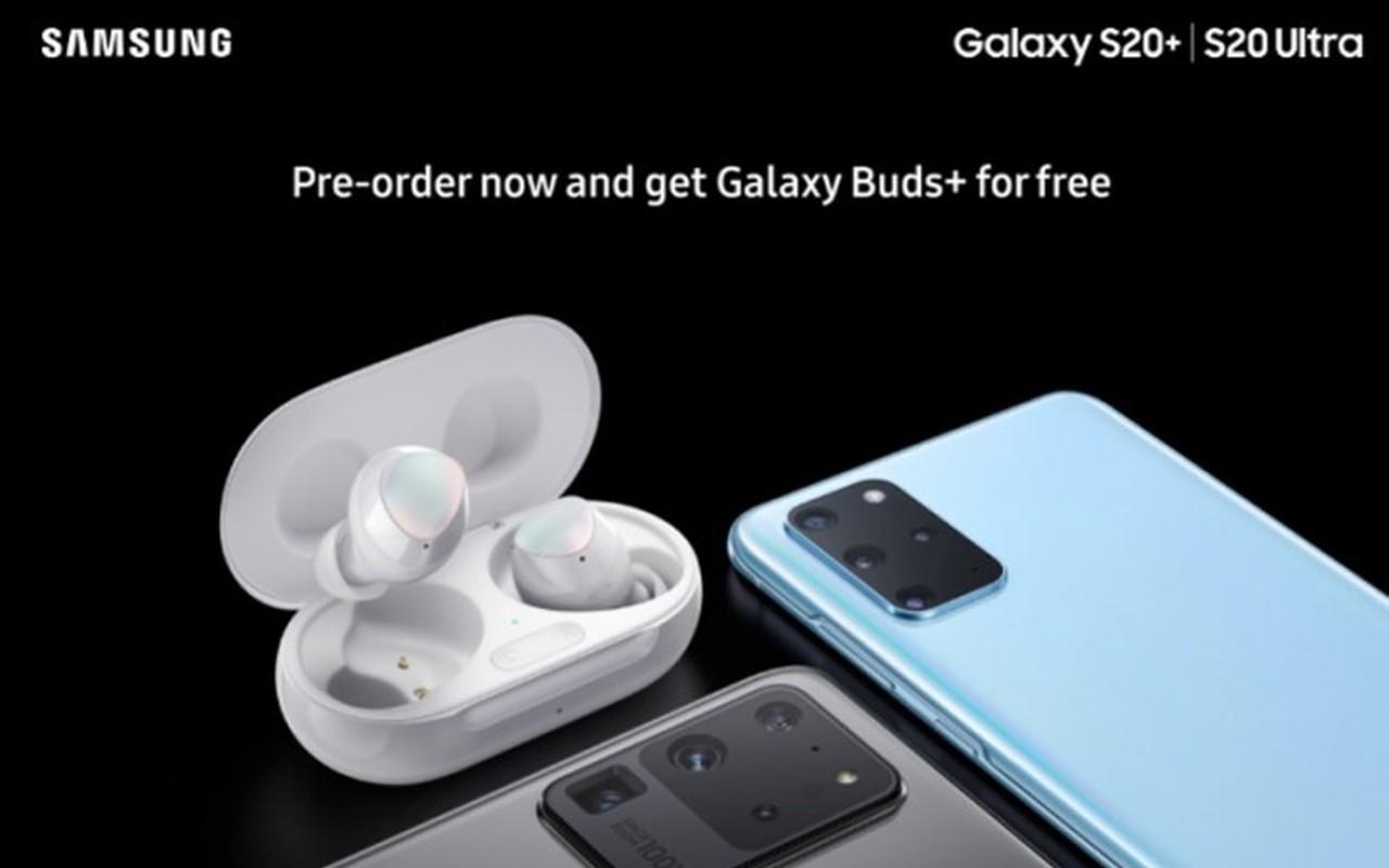 Samsung Galaxy S20 Pre Order Buds Header