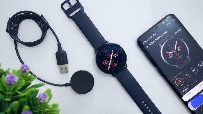 Samsung Galaxy Watch Active2 Tampilan Depan