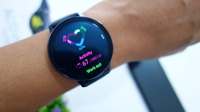Samsung Galaxy Watch Active2 Workout