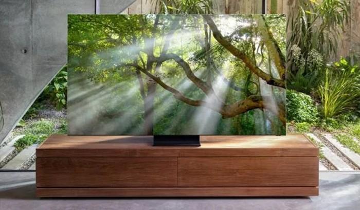 Samsung TV QLED 8K Bezelfree Ambient