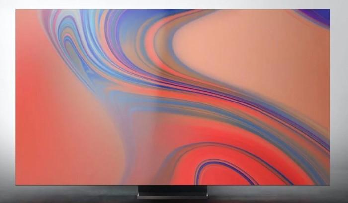 Samsung TV QLED 8K Bezelfree Front