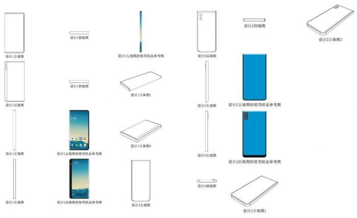 Smartphone Xiaomi Tiga Layar