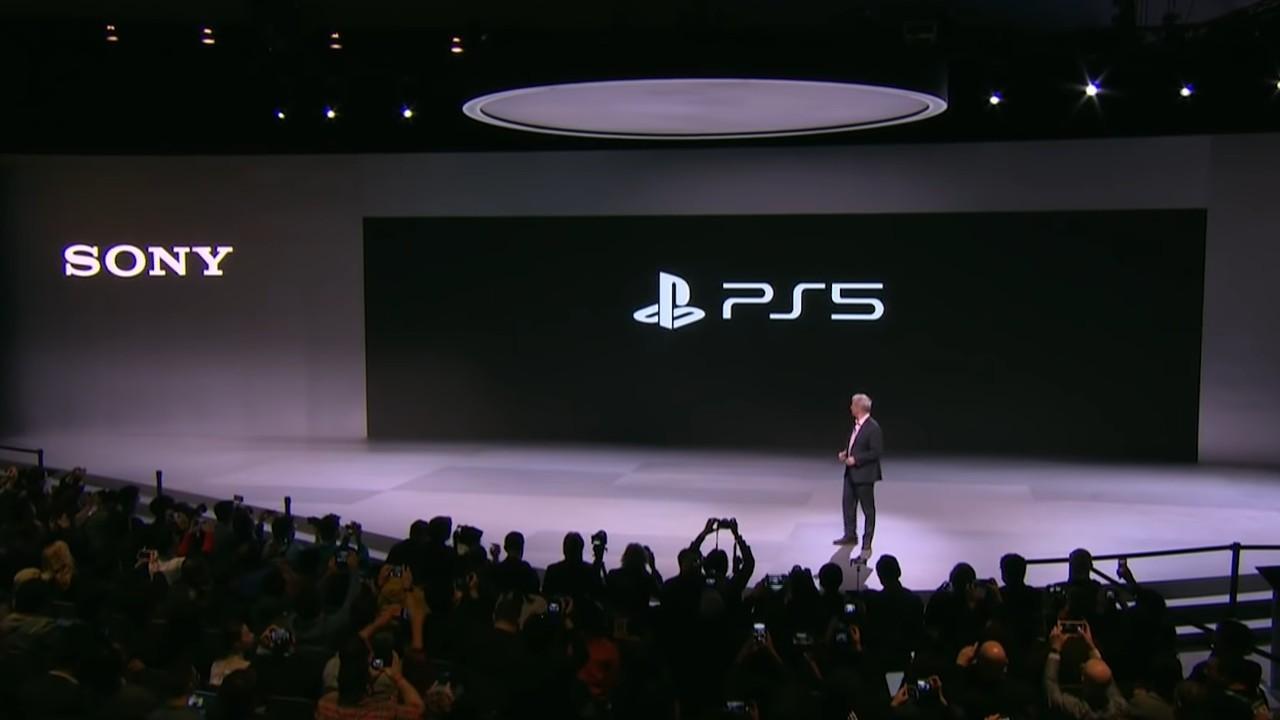 Sony PS5 Logo CES 2020 Header