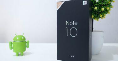 Unboxing Mi Note 10 Pro Header