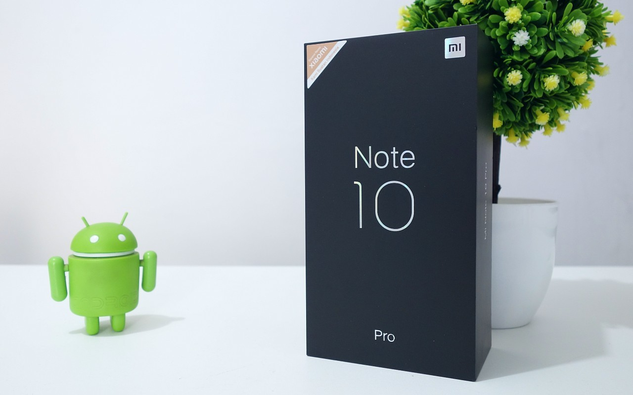 Unboxing Mi Note 10 Pro Header