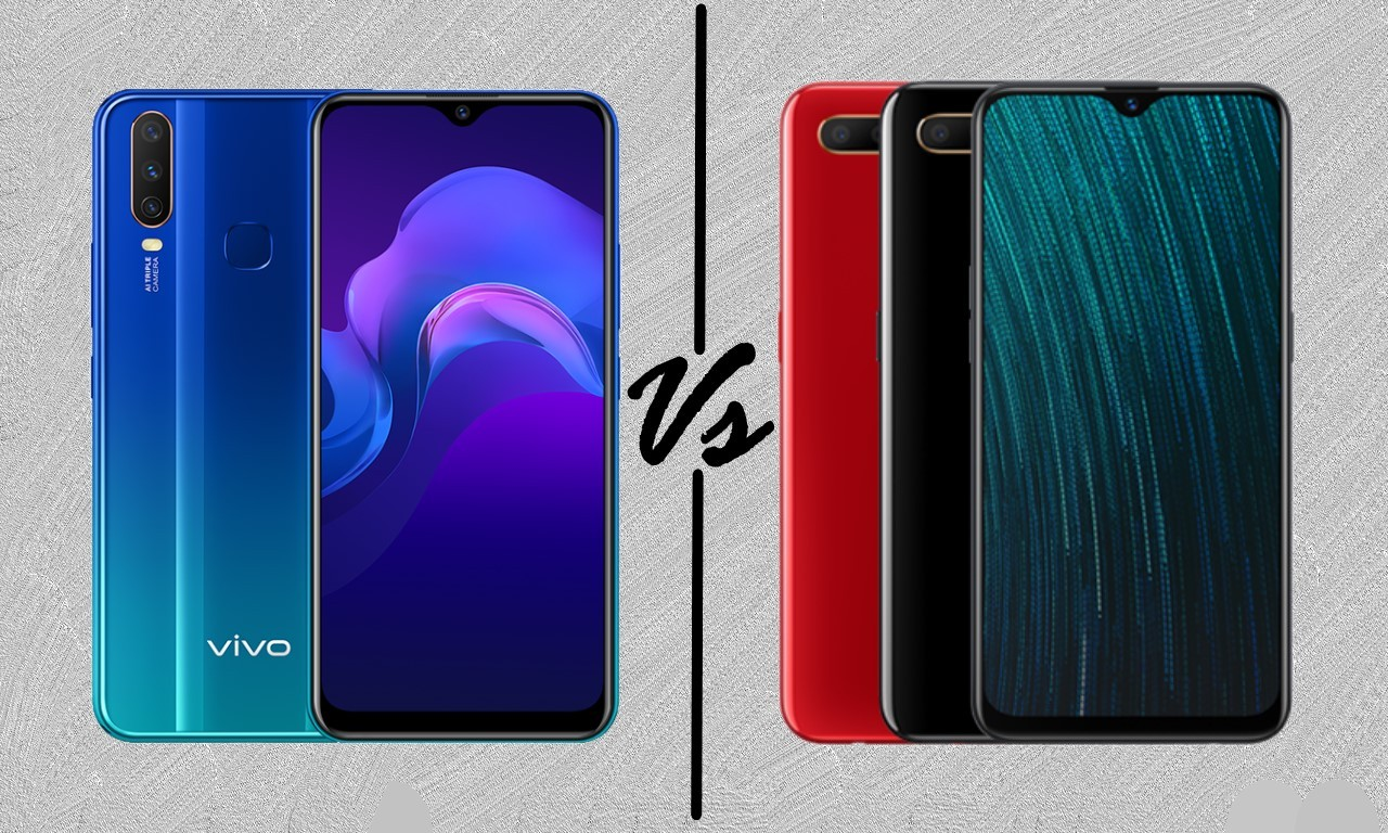 Vivo Y12 Vs OPPO A5s Header